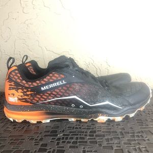 Merrell all out crush tough muddier trail shoes